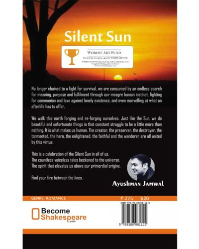 Silent sun book rear cover
