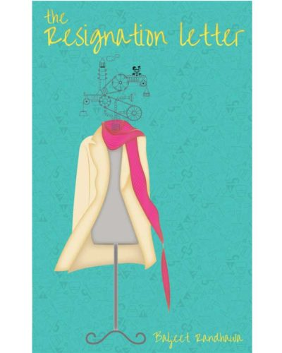 The resignation letter book front cover