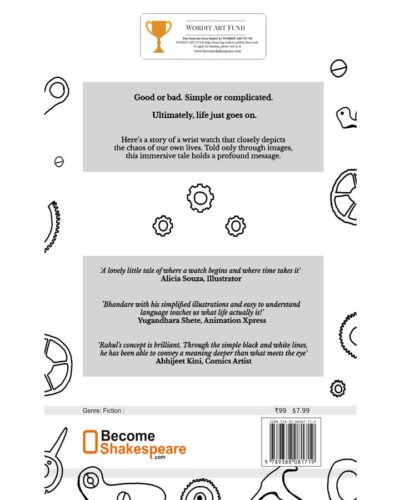 Tick tock book rear cover