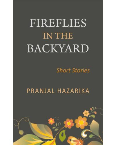 Fireflies in the backyard front cover