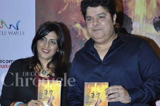 Sajid Khan at book launch