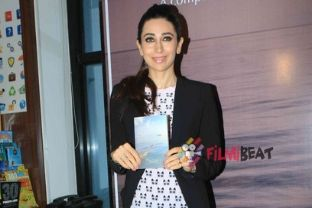 Karishma Kapoor At book launch